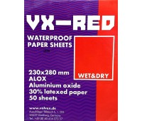 VX-RED Наждачная бумага (мокрая) P1000, 1 шт