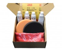 УНИВЕРСАЛЬНЫЙ набор для восстановительной полировки лакокрасочного покрытия.