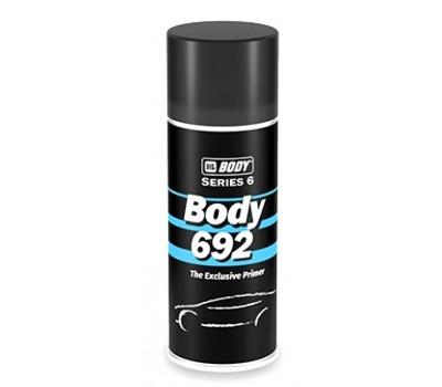 Body 692 акриловый грунт наполнитель спрей серый, 0.4 л.