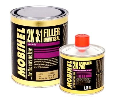 Mobihel (47843502) HS Грунт-наполнитель 3:1 W/W LOW VOC_0,75л + отвердитель