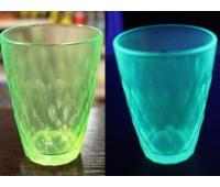 Краска для стекла и керамики полиуретановая флуоресцентная, зелёный 100г
