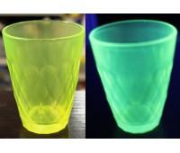 Краска для стекла и керамики полиуретановая флуоресцентная, лайм 100г