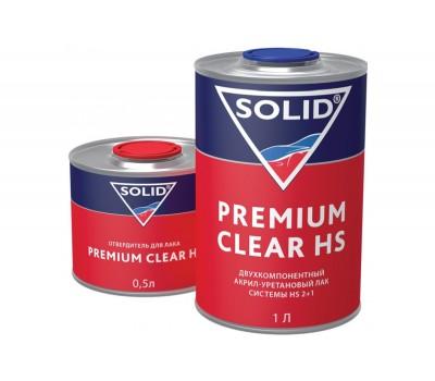 SOLID (325.1500) Лак 2К 2+1 с отв.CLASSIC CLEAR___1,5л