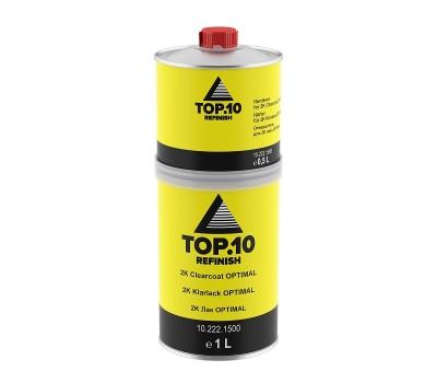 TOP.10 (10.222.1500) 2К Прозрачный лак OPTIMAL с отв.___1,5 л