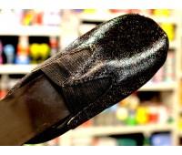 ЛАК c флейками МЕЛКИМИ бесцветный полиуретановый для кожи, кожзама, пвх,  100г