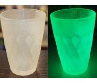 Краска для стекла и керамики полиуретановая люминесцентная, молочный (зелёный) 100г