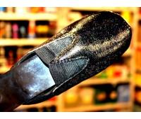 ЛАК c флейками СРЕДНИМИ бесцветный полиуретановый для кожи, кожзама, пвх,  100г