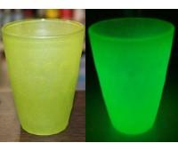 Краска для стекла и керамики полиуретановая люминесцентная, зелёный (зелёный) 100г
