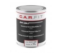 CarFit (4-410-1200) 2К Акриловый грунт высоко наполняющий 5:1 серый, комплект 1 кг + 0,2 отвердителя