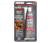 ABRO Герметик прокладок 999 ОЕМ серый (9 AB-R) 85 гр