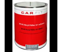 CarFit 4-106-3600 2К акриловый грунт-наполнитель HS 4:1, светло-cерый 3,6 л + 0,9 отвердителя