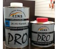 E.I.N.S. PRO 2К Акриловый лак 2+1 HS с отвердителем 1л + 0,5 л.