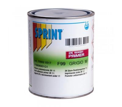 SPRINT F99 2К Wash Primer Грунт серый литр