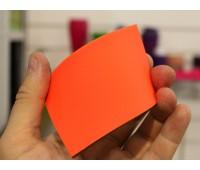 Краски для изделий из резины полиуретановые флуоресцентные ультраяркие, цвет ОРАНЖЕВЫЙ, на развес 100г+10г (краска+отвердитель)