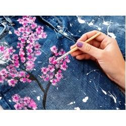 Краски полиуретановые для аэрографии и росписи по тканям, коже, кожзаму, ПВХ мягкому