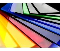 Краска для оргстекла и поликарбоната прозрачная, полиуретановая вододисперсионная, колеровка по RAL, 100г