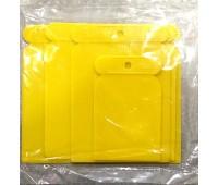 Шпатели пластиковые, набор__4шт (50, 80, 100, 120мм)