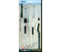 Voylet СК-170 Набор для чистки краскопультов, 17 предметов
