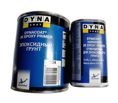 DYNACOAT. 2K Epoxy Primer грунт эпоксидный + отвердитель, 1 л + 0.5л.