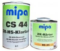 MIPA 2K-HS-Klarlack CS 44 Керамический лак 2:1___1л.+Отвердитель к лаку HS 25___0,5 л