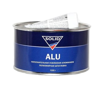 SOLID 314.0500 Шпатлевка наполнитель алюминий  ALU___0,5кг