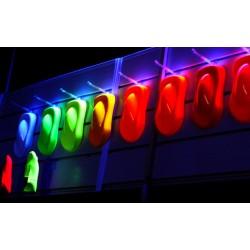 Краски ФЛУОРЕСЦЕНТНЫЕ (для металла, пластика, дерева, бетона), на развес 100г