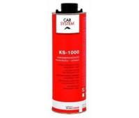 CARSYSTEM. (149265) 3728 KS-1000 антигравийное покрытие, евробаллон 1л (чёрный)