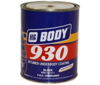 Body 930. Антикор для днища и арок  черный, 5кг