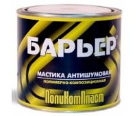 """Поликомпласт. """"Барьер"""" мастика антишумовая  2,2кг"""
