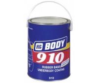 Body 910. Антикор для днища и арок серый, 5кг
