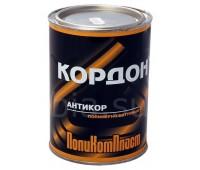 """Поликомпласт. """"Кордон"""" антикор полимерно-битумный  1кг"""