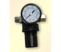 """Voylet. AR-802 регулятор давления с манометром на краскопульт, 1/4"""""""