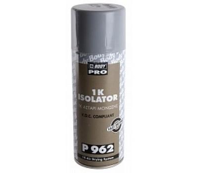 BODY. 962 Быстросохнущий изолятор несовместимых красок, спрей 400мл
