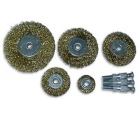 Щётки-крацовки плоские 75 мм, 60 мм, 50 мм, 40 мм, 25 мм