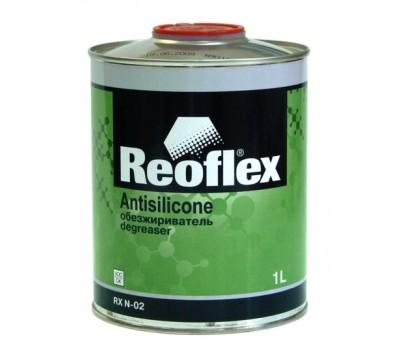 REOFLEX. Очиститель силикона быстрый (обезжириватель),1л
