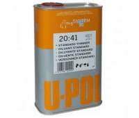 U-POL. S2041/1 Растворитель стандартный  для акриловых эмалей, грунтов и лаков, 1л.