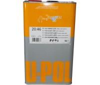 U-POL.  Растворитель медленный  для акриловых эмалей, грунтов и лаков__5л.