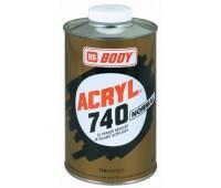 Body 740. Растворитель нормальный для акриловых эмалей, грунтов и лаков__1л.