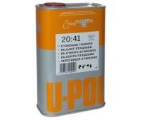 U-POL. S2045/5 Разбавитель стандартный для базовых красок, металликов и перламутров, 5л