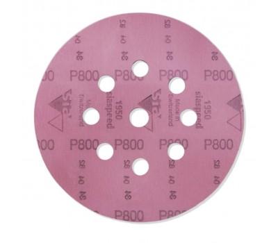 SIA. Siaspeed, шлифовальный круг 9 отв., D125мм, Р180