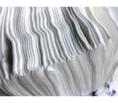 Gekatex. LU 02 Полировальные салфетки одноразовые ячеистые белые (пакет 50шт)