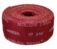 MIRKA. Шлифовальный войлок MIRLON TOTAL (815BY001373R), рулон 115х10м P360 (красный)