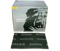 MIRKA. Шлифовальный войлок (скотчбрайт) MIRLON (8019002095), лист 152х229х10мм P2000 MF (серый)