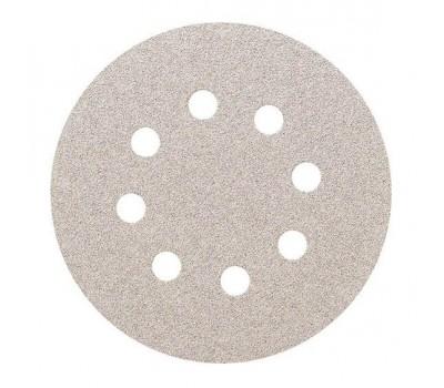 SMIRDEX. 510 White Круг абразивный,125мм, 8 отверстий, Р100