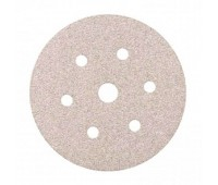 SMIRDEX. 510 White Круг абразивный,150мм, 6 отверстий, Р180