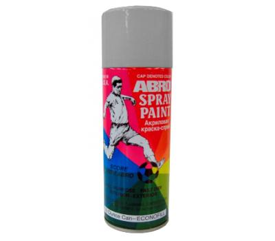 ABRO. Краска алюминиевая (SP-026) спрей, 227 гр
