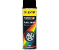 Motip. 4018 Краска для дисков чёрная, спрей 500мл.