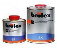 Brulex (30000501) Лак 2К-HS прозрачный Премиум + отвердитель 2000 (1л+0,5л) комплект