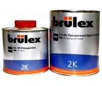 Brulex (927010126) 2К-Прозрачный грунт-изолятор 2+1, 1л + 0.5л отвердитель