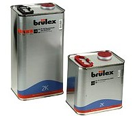 Brulex (928533126) 2К HS Грунт- порозаполнитель белый 4:1, 3.5л + отвердитель 1л
